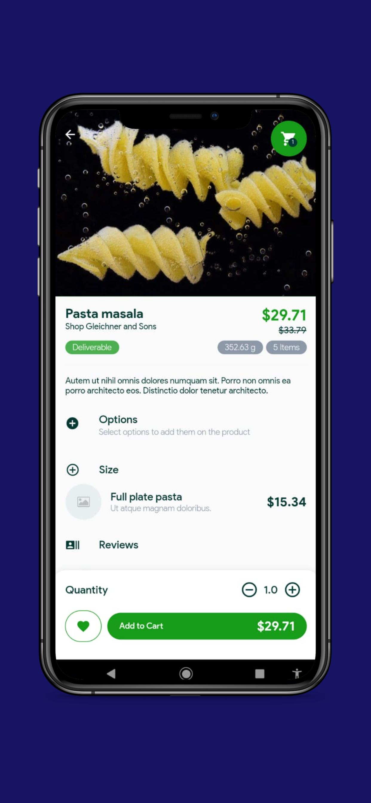 Uber Food Delivery