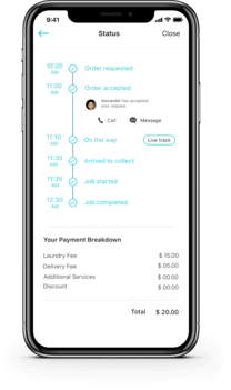 Dry cleaning App - Dry cleaning app