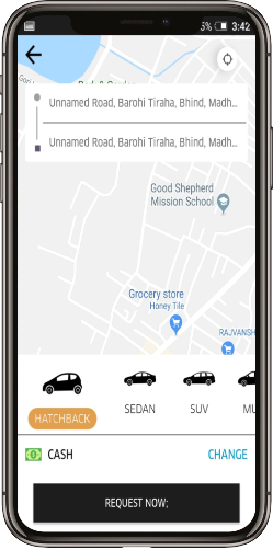 Uber taxi booking complete solution at Appok Infolabs