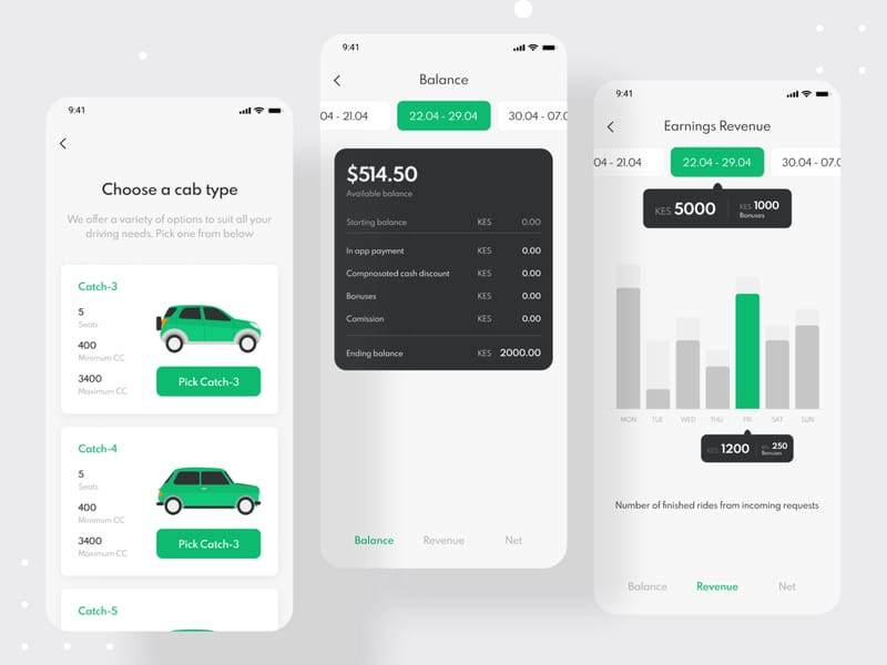 Uber Taxi Apps USA